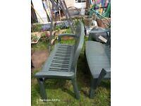 3 Garden Benches see description