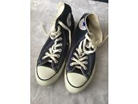 Size 8 Converse All Star shoes