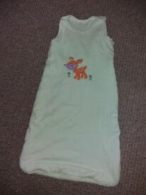 Baby sleeping bag 6-12 mths