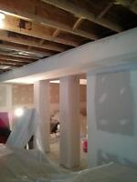 Drywall, Taping, & Painting Service