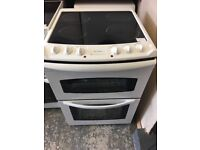 Tricity Bendix 60cm Double Electric Cooker in White #4010
