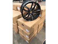 "4 18"" alloy wheels alloys rims tyre tyres vw Volkswagen seat Skoda 112 caddy A3"