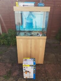 Juwel lido 200 litre fish tank and stand in excellent condition new style