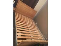 Wicca bed frame double
