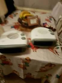 Fiji electric heaters x2
