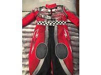 Boys Disney cars racing suit