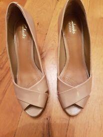 Ladies Clarks shoes size 5