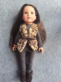 Design a Friend Doll and accessories