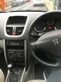 Peugeot 207: great condition and low mileage
