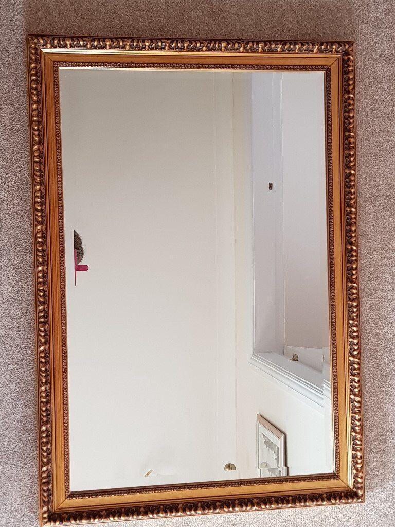 Gilt Framed Wall Mirror | in Littleover, Derbyshire | Gumtree