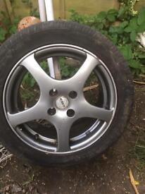 Fox Alloy wheels fit Seat , VW Audi