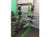 Commercial half rack package gym deal