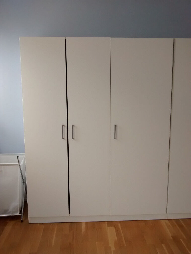 2 ikea dombas wardrobe mint condition bargain price in croydon london gumtree. Black Bedroom Furniture Sets. Home Design Ideas