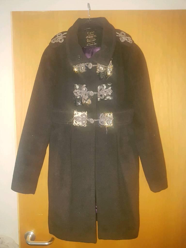 Coat jacketin Muirhead, GlasgowGumtree - Coat was 120 out of riverisland never been work size 8. Smoke and pet free home. 07864639837 thanks