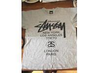 Mens Stussy 'world tour' tshirt