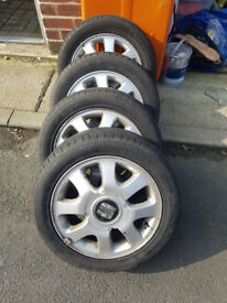 Seat AROSA alloys 4x100