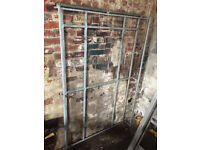 Galvanised 8x4 roof rack with rear rollers for loading - will fit most cars and vans - £120 o.n.o.