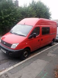 ldv maxus lwb high top starts and drives engine started to knock