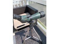 Used, Hawke endurance spotting scope 20 - 60x60 for sale  Newquay, Cornwall