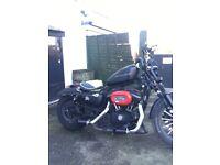 883 custom Harley Davidson's sportster