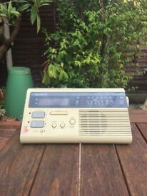Vintage Sony Digimatic Clock Radio - Retro 1980s
