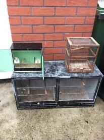 Canary cages job lot £40
