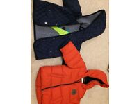 2 Next boys coats age 6-9 months