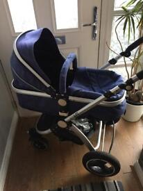 Gorgeous pram to pushchair!!! Great condition