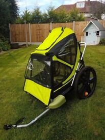 Bellelli Bike Taxi Child Bike Trailer - very good condition, carries 2 children