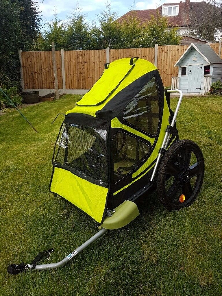 Bellelli Bike Taxi Child Bike Trailer - very good condition, carries 2 children