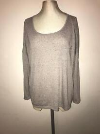 Grey Next Top - Size 16