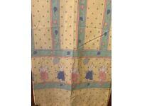 Mothercare nursery curtains