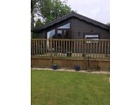 2 bedroom holiday lodge mid wales. 11 month season. Recent refurb, new roof, gas central heating