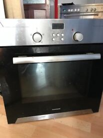 Used built in oven