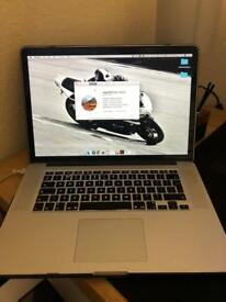 "Apple MacBook Pro with Retina display 15.4"" i7 core (june 2012)"