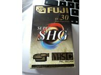 Fuji SHG compact video cassette. New and sealed condition. 14 for sale.