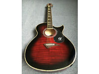NEW OLD STOCK LINDO ELECTRO ACOUSTIC GUITAR