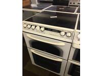 £120 - CONCEPT 60 CM WIDE ELECTRIC COOKER WITH GUARANTEE