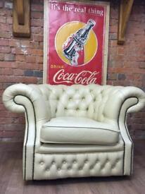 Chesterfield club armchair