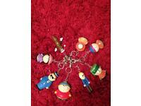 South Park key rings