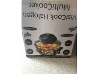 Visicook Halogen multicooker Very good condition only used twice paid £50 for it from Cosco is