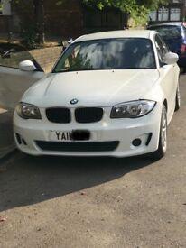 2011 WHITE BMW 1 SERIES COUPE 2.0 118D ES DIESEL