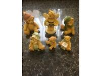 6 x cherished teddies