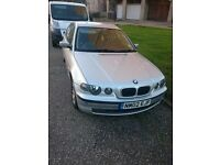 BMW 318 ti compact silver mot till jan 2017 was in vgc until i over tightened a spark plug £