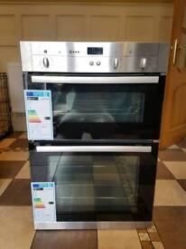 NEFF U12S32N3GB Electric Double Oven - Stainless Steel Rrp £699