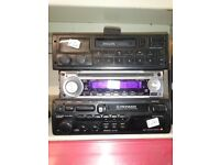 Car stereo tape players