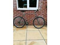 "Specialised hardrock sport lightweight 26""wheels good working order, large frame, suit 5'10""plus"