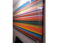 Large colourful canvas