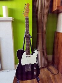 Fender Telecaster 62 Reissue Guitar Made in Japan MIJ Fully Bound Gloss Black