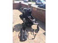 Phil and teds sport double pram